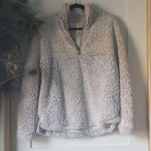 COPY - Thread and supply cozy pullover.